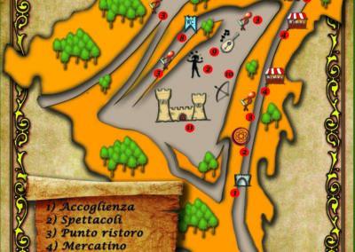 Mappa Notte dei Misteri 2016